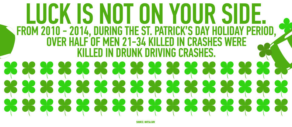 NT07-50769 St Patrick's Day 2016 Infographic Clovers STATIC V1